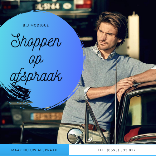 Shoppen of afspraak